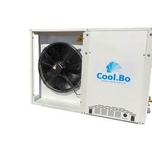 יחידות עיבוי לטמפרטורה נמוכה (-) במבנה סגור דמוי מזגן